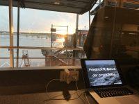 Prüfungsvorbereitung am Flughafen Hamburg
