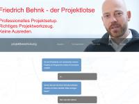 Webseite FBehnk projektbeschickung.de
